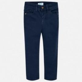 Mayoral 3544-24 Spodnie chłopięce kolor granat