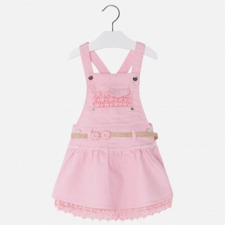 Mayoral 3600-40 spódnica dziewczęca ogrodniczka kolor róż