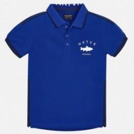 Mayoral 6132-24 Koszulka polo chłopięca kolor niebieski