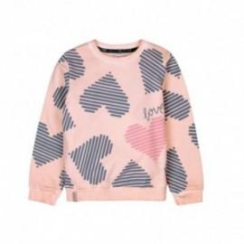 Boboli 416146-3595 bluza dla dziewczynki kolor róż