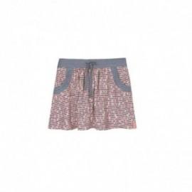 Boboli 416023-9894 spódnica dla dziewczynki kolor popiel