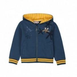 Boboli 456173-2416 bluza dziewczęca kolor granat