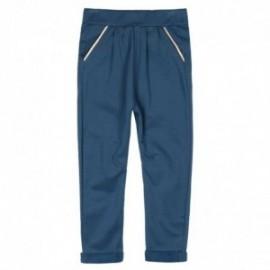 Boboli 456140-2416 spodnie dla dziewczynki kolor granat