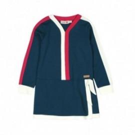 Boboli 406134-2416 sukienka dla dziewczynki kolor granat