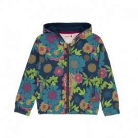 Boboli 436160-9868 bluza dla dziewczynki kolor granat