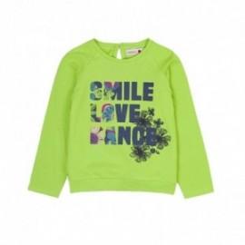 Boboli 436047-4431 koszulka dla dziewczynki kolor zielony