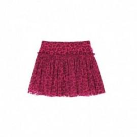 Boboli 466095-9912 tiulowa spódnica dla dziewczynki kolor pelargonia
