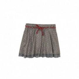 Boboli 426158-9877 spódnica dla dziewczynki kolor szary