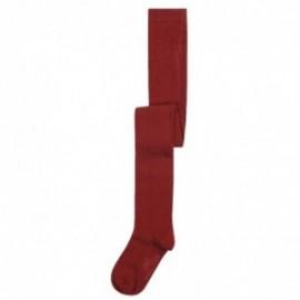 Boboli 496009-7332 rajstopy dla dziewczynki kolor dachówka