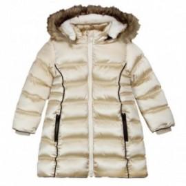 Boboli 726487-GOLD kurtka parka dla dziewczynki kolor złoto