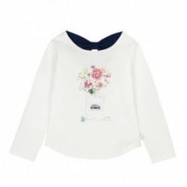 Boboli 726218-1111 koszulka dla dziewczynki kolor krem