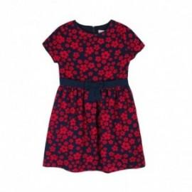Boboli 726094-9883 sukienka dla dziewczynki kolor czerwony