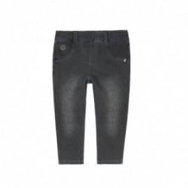 Boboli 296029-GREY Spodnie dla dziewczynki kolor szary