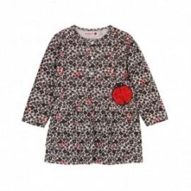 Boboli 216076-9905 sukienka dla dziewczynki kolor czerwony