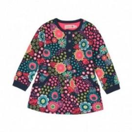 Boboli 236067-9898 Sukienka dla dziewczynki kolor granat