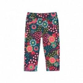 Boboli 236102-9898 spodnie dla dziewczynki kolor granat
