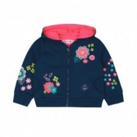 Boboli 236179-2421 bluza dla dziewczynki kolor granat