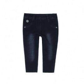 Boboli 296029-DARKBLUE Spodnie dla dziewczynki kolor granat