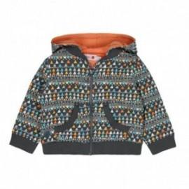 Boboli 246147-9926 bluza dla dziewczynki kolor szary