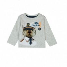 Boboli 326023-7299 koszulka dla małego chłopca kolor szary