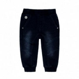 Boboli 396053-DARKBLUE Spodnie dla chłopca kolor granat