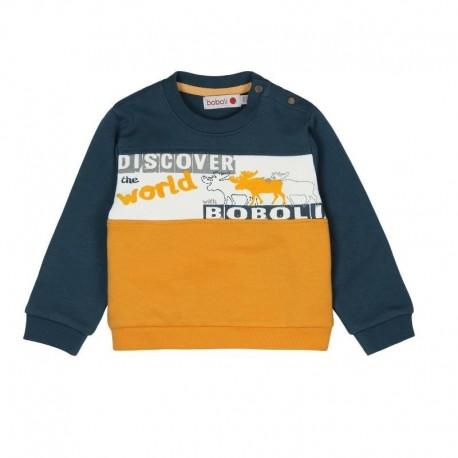 Boboli 326056-2332 Bluza dla chłopca kolor niebieski
