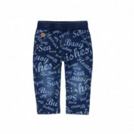 Boboli 326078-9889 spodnie dla chłopca kolor niebieski