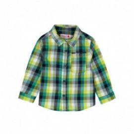 Boboli 336046-9903 koszula dla chłopca kolor zielony