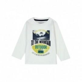 Boboli 336057-1111 koszulka dla małego chłopca kolor krem