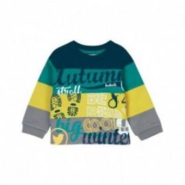 Boboli 336091-4435 Bluza dla chłopca kolor zielony