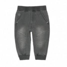 Boboli 396053-GREY Spodnie dresowe dla chłopca kolor szary