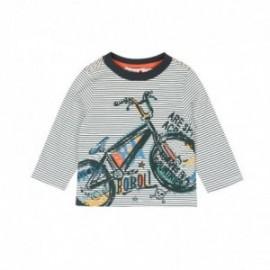 Boboli 346014-9924 koszulka dla małego chłopca kolor szary