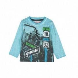 Boboli 306032-2422 koszulka dla małego chłopca kolor lód