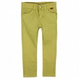 Boboli 596011-4433 spodnie dla chłopca kolor anyżowy