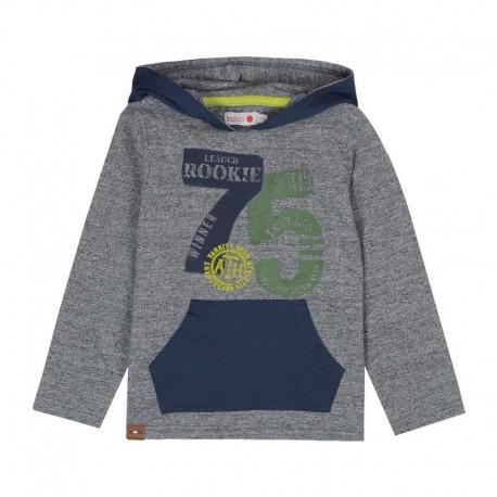 Boboli 506023-2423 koszulka z kapturem kolor granat