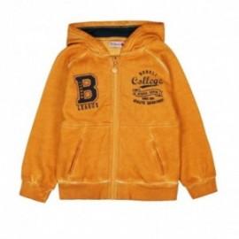 Boboli 526126-1116 bluza dla chłopca kolor żółty