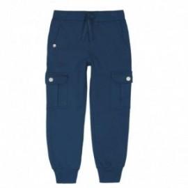 Boboli 596055-2416 spodnie dla chłopca kolor granat