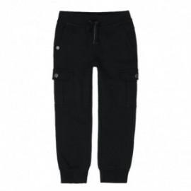 Boboli 596055-890 spodnie dla chłopca kolor czarny