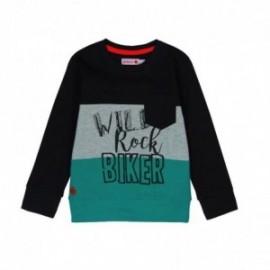 Boboli 516057-890 koszulka dla chłopca kolor czarny
