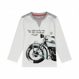 Boboli 516002-1111 koszulka dla chłopca kolor krem