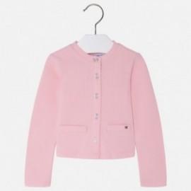 Mayoral 151-43 Sweterek dla dziewczynki kolor róż