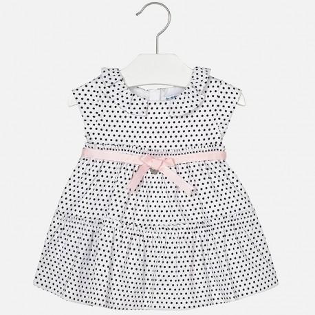 Mayoral 1934-10 Sukienka dla dziewczynki kolor czarny