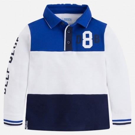 Mayoral 3186-57 Koszulka chłopięca polo kolor niebieski