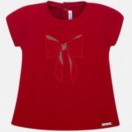 Mayoral 105-17 Koszulka dziewczęca kolor czerwony