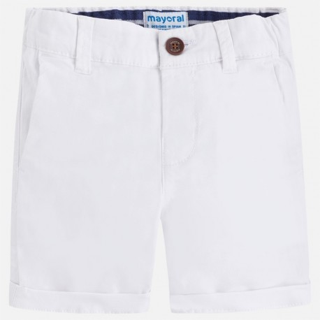 Mayoral 202-52 Bermudy dla chłopca kolor biały