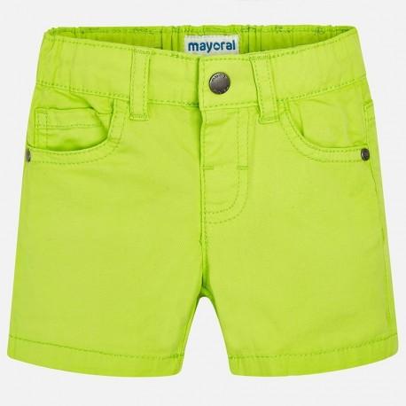 Mayoral 206-33 Bermudy chłopięce kolor zielony