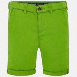 Mayoral 242-25 Bermudy chłopięce kolor zielony