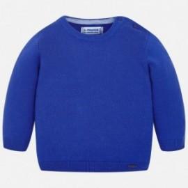 Mayoral 303-85 Sweter chłopięcy kolor niebieski