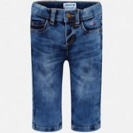 Mayoral 503-15 Spodnie jeans chłopięce kolor niebieski