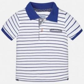 Mayoral 1134-46 Koszulka chłopięca polo kolor niebieski